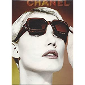 PRINT AD for 2002 Chanel Sunglasses With Eva Jay Kabatova