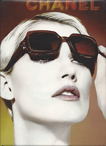 PRINT AD for 2002 Chanel Sunglasses With Eva Jay Kabatova (Sunglasses Chanel)