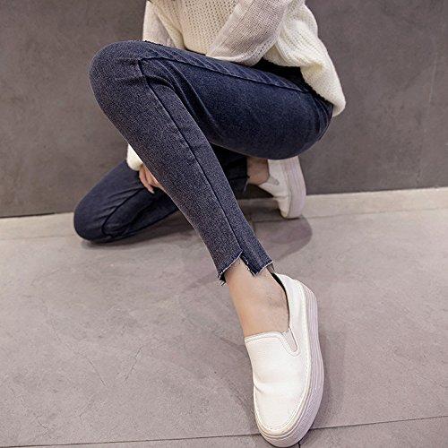 KINDOYO Donne Delle Blu Incinte calde Lunghi Donne Pantaloni di vendita Donne Delle incinte Pantaloni dei Lunghi Delle BqrCwxB