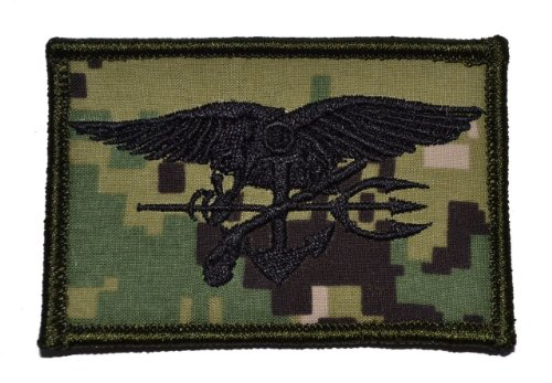 Seal Trident NWU Type 3 (AOR2) 2x3 Morale Patch