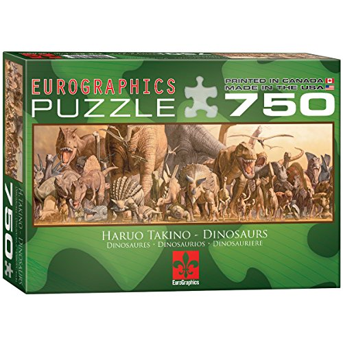 EuroGraphics Dinosaurs Jigsaw Puzzle 750 Piece Puzzle