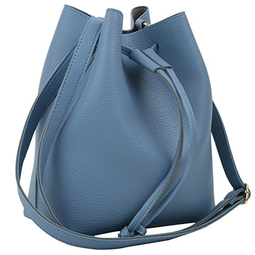 Copi Women s Everyday Bucket Bag   Cute Feminine Of Drawstring Crossbody  Small Bags 7ee261cfb3f66