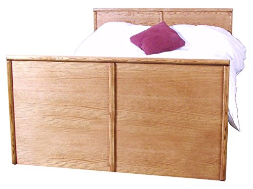 Forest Designs Bullnose King Panel Bed: 64W x 49H x 93D Queen Unfinished Alder (Unfinished Bed Queen)