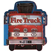 Fire Trucks (Shaped Board Books)