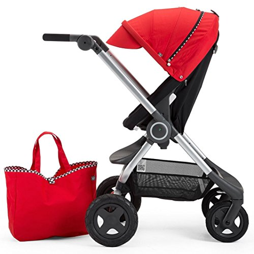 Stokke Scoot Stroller Racing Kit, Red