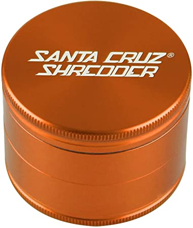SANTA CRUZ SHREDDER – LARGE 4 PIECE GRINDER GOLD 2.75
