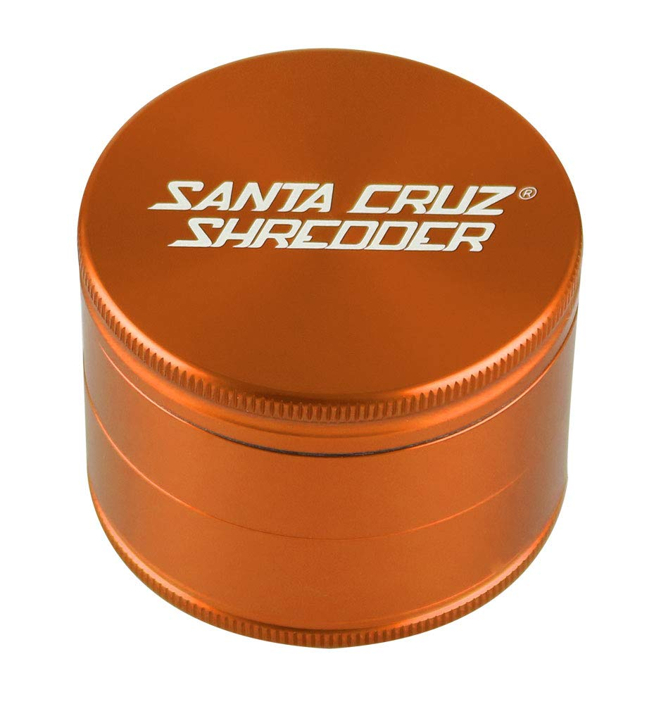 SANTA CRUZ SHREDDER - LARGE 4 PIECE GRINDER GOLD 2.75''