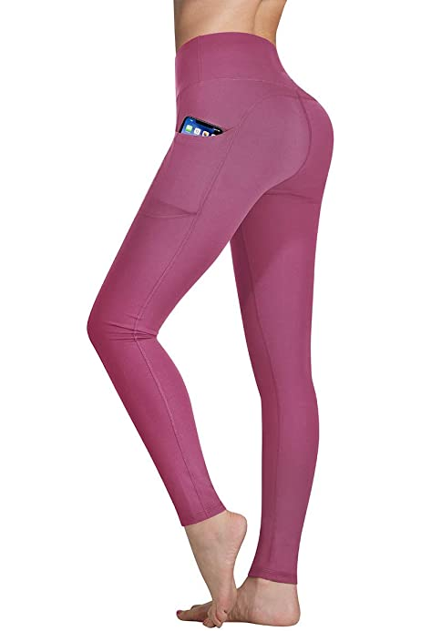 Athletic Yoga Leggings from DiaNoche Designs by Metka Hiti Bugs Tulips