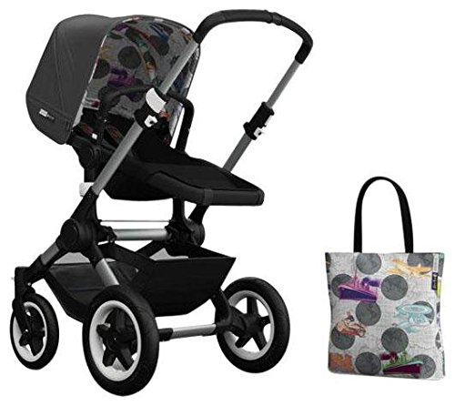 Bugaboo Buffalo Accessory Pack - Andy Warhol Dark Grey/Transport (Special Edition) by Bugaboo