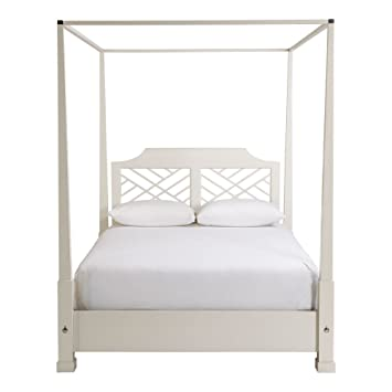 Amazoncom Ethan Allen Hayward Four Post Canopy Bed King Ascot