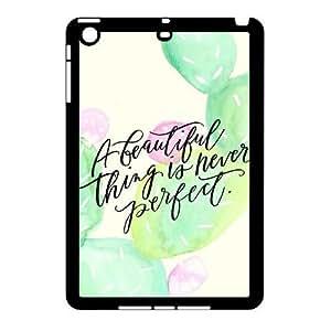 Customized iPad Mini Case, CACTUS quote Cheap Cover Case