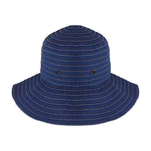36889a3dc0f Denim Blue Roll Up Travel Bucket Sun Hat