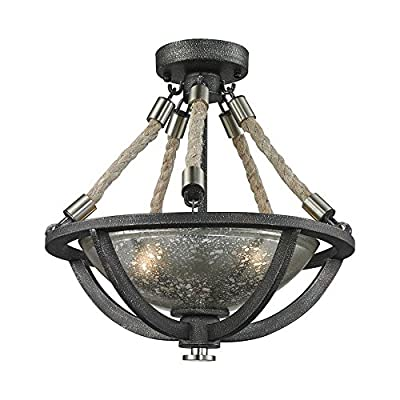 Elk Lighting 63052-2 Ceiling-Pendant-fixtures, Silver