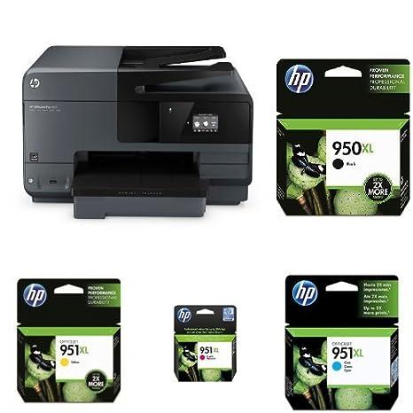 HP Officejet Pro 8610 Pack - Impresora multifunción de tinta + ...
