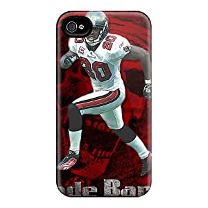 Premium Tampa Bay Buccaneers Back-covers Snap On Cases For Iphone 4/4s