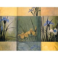 Pimpernel Iris Squares S/4 Placemats