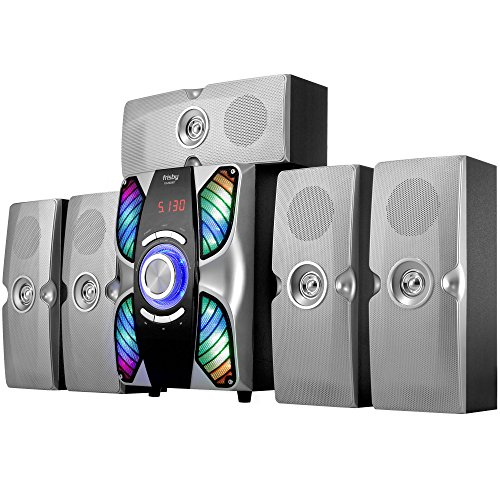 FRISBY FS-6900BT_Silver Home Theater 5.1 Surround Sound S...
