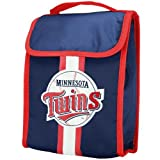 MLB Minnesota Twins Velcro Lunch Bag, Baby & Kids Zone