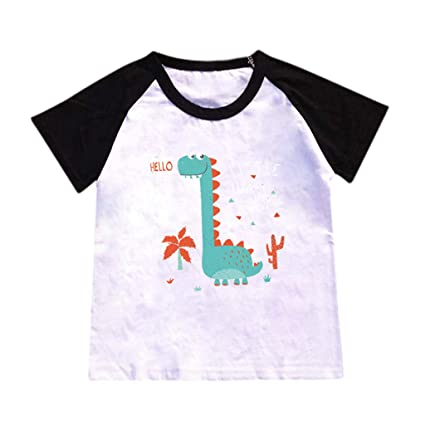 714fb801d Amazon.com : Hstore ✿ Boy Clothes 2-8 Years Boys Kids Bady Dinosaur ...