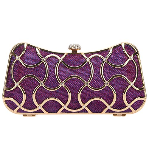 Fawziya Crystal Clutch Evening Bags For Women Clutch With - Sale Solid Gold Uk For
