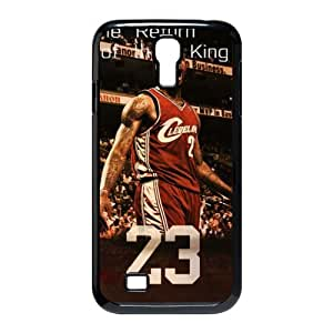 Custom Plastic Case Sports Cleveland Cavaliers lebron James Samsung Galaxy S4 I9500 phone case