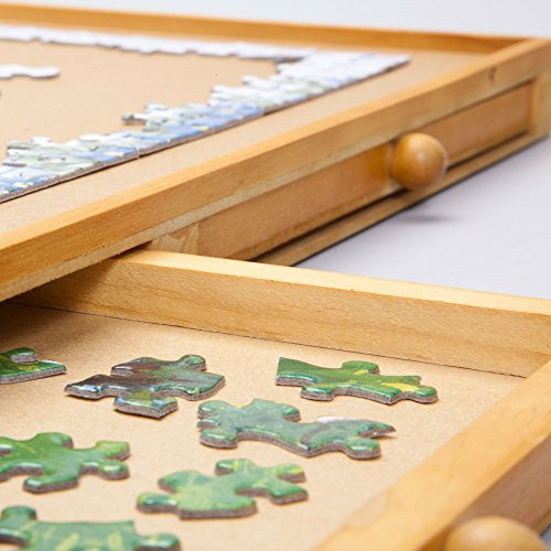 Bits And Pieces Jumbo Size Wooden Puzzle Plateau Smooth