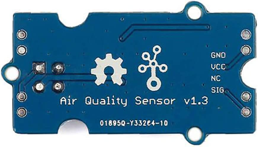 Alcohol Air Quality Sensor v1.3 Responsive to Wide Scope of Gases Carbon Monoxide Seeed Studio Grove Acetone,Formaldehyde 5V and 3.3V Compatible