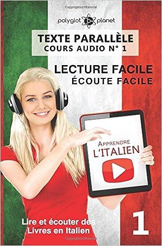 apprendre litalien texte parallele ecoute facile lecture facile cours audio n 2 lire et ecouter des livres en italien