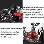 HYJBGGH-Cyclette-F-Bike-Advanced-CycletteCyclette-Indoor-Cyclette-Spin-Cross-Trainer-Cyclette-Manubrio-E-Sedile-Confortevole-Volano-Bidirezionale-Color-Black