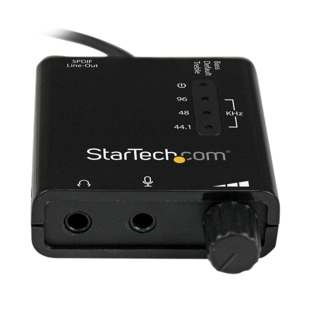 Startechcom Usb Stereo Audio Adapter External Sound Card With Spdif Circuit Diagram View Larger