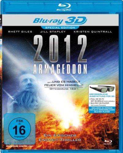 2012 Armageddon ( Quantum Apocalypse ) ( Judgment Day (Two Thousand Twelve Armageddon) ) (3D & 2D) [ Blu-Ray, Reg.A/B/C Import - Germany ]