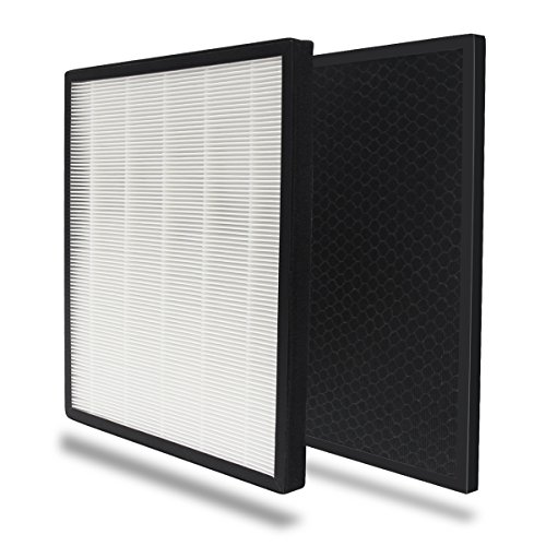 Signstek Air Purifier KF-P25 Replacement Filter, PP Filter, True HEPA Filter and Activated Carbon Filter Set for KF-P25 by Signstek