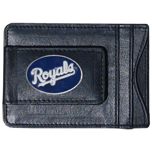 (Siskiyou MLB Kansas City Royals Leather Cash and Card Holder)