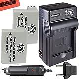 BM Premium 2-Pack Of LP-E8 LPE8 Batteries And Charger Kit For Canon Rebel T2i T3i T4i T5i DSLR Digital Camera