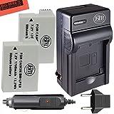 BM Premium 2-Pack of LP-E8 Batteries and Battery Charger for Canon EOS Rebel T2i, T3i, T4i, T5i, EOS 550D, EOS 600D, EOS 650D, EOS 700D DSLR Digital Camera