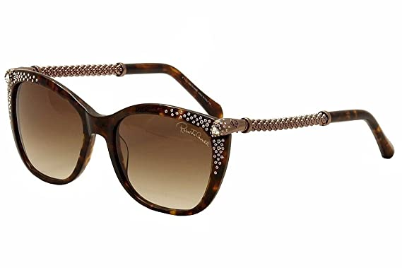 0128248408610 Roberto Cavalli Women s Talitha 978S 978 S 52F Havana Rose Gold Sunglasses  55mm