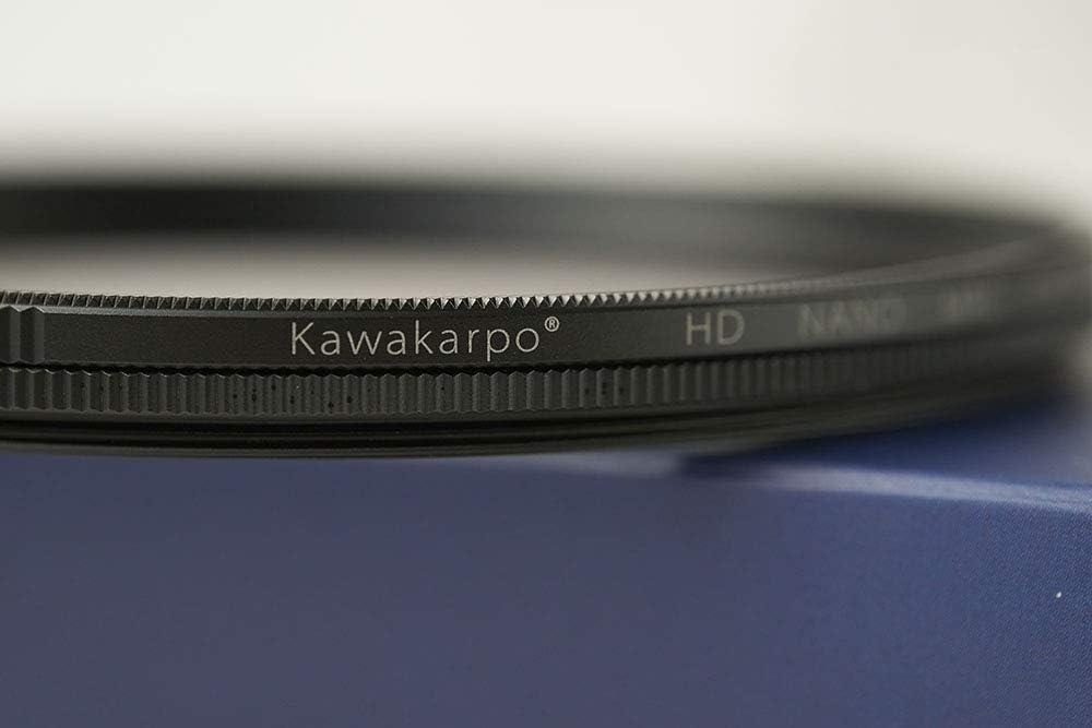 Kawakarpo CPL 82mm Circular Polarizing Filter for Camera Lenses,High Sharpness,HD MRC16 Nano Coating,Ultra-Slim,Weather-Sealed,B270 Schott