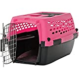 Cheap You & Me Relaxing Refuge Dog Kennel, Pink, 24″, X-Small