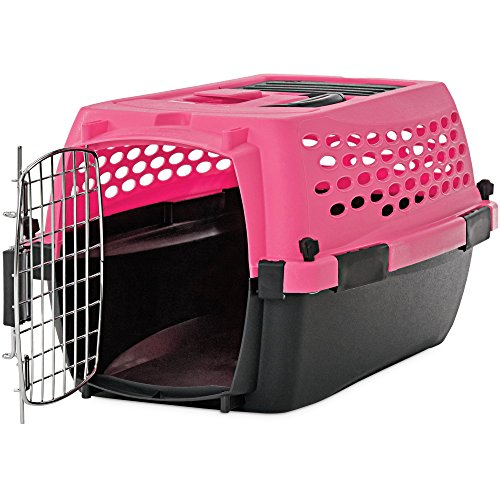 """You & Me Relaxing Refuge Dog Kennel, Pink, 24"""", X-Small"""