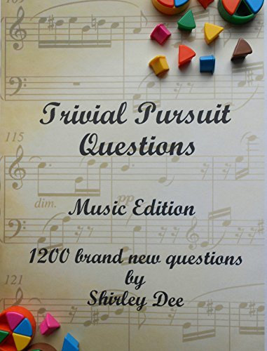 (TRIVIAL PURSUIT QUESTIONS: MUSIC EDITION)