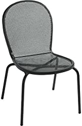 Exceptionnel Bistro Outdoor Metal Chair Without Arms   Lot Of 4