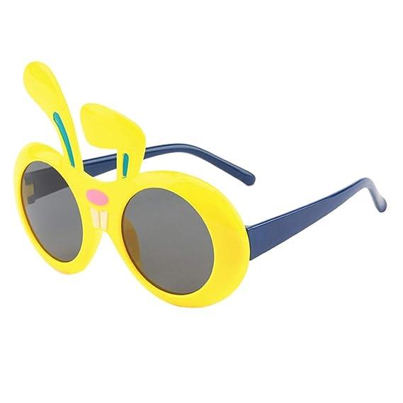 qiansu Lindo Conejo Forma Polarizado Niños Gafas de sol ...