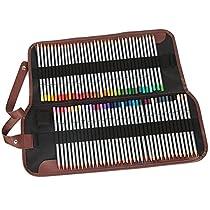 Tomkity Set 72 Lápices de Colores de dibujo con bolso