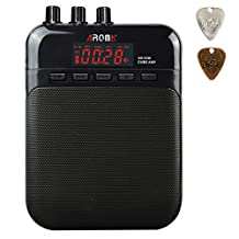 AROMA Mini Portable 5W Guitar Amp/Amplifier Recorder /Speaker with USB Cable to Recharge
