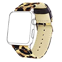 Bandmax Fabric Replacement Strap Compatible Apple Watch;Stai