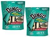 Dingo DN-99158 Dental Spirals for Pets, 42-Pack