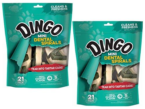 Dingo DN-99158 Dental Spirals for Pets, -