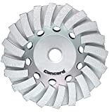 Concord Blades GCL070FCP 7 Inch Swirl Turbo Diamond Cup Wheel with 5/8''-11 Thread