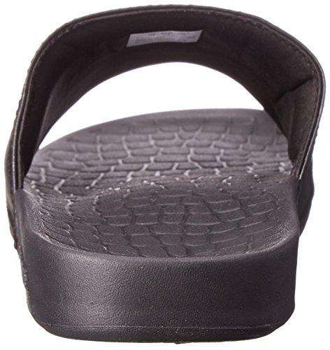 Lacoste Mens Fraiser Brd1 Plattform Sandal Svart / Svart