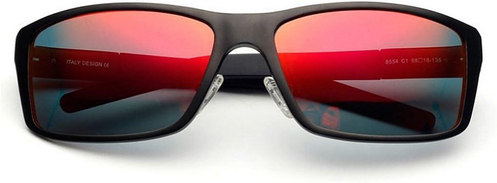 FeliciaWen Gafas de Sol polarizadas Gafas de Sol polarizadas para Hombres Marco de Aluminio y magnesio Lente TAC Protección UV Conducción Gafas de Sol ambulantes Regalo del día del Padre Gafas de